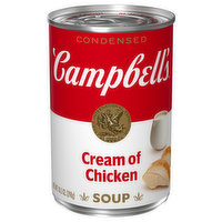 Campbell's Soup, Condensed, Cream of Chicken, 10.5 Ounce