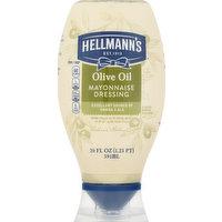 Hellmann's Mayonnaise Dressing, Olive Oil, 20 Ounce