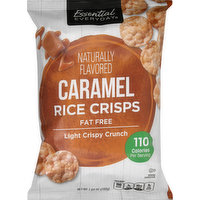 Essential Everyday Rice Crisps, Fat Free, Caramel, 7.04 Ounce