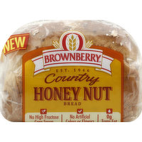 Brownberry Bread, Country, Honey Nut, 8 Ounce