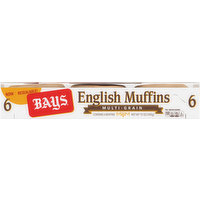 Bays English Muffins, Multi-Grain, 6 Each