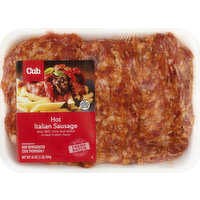Cub Italian Sausage, Hot, 16 Ounce