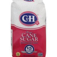 C&H Sugar, Pure Cane, Granulated White, 4 Pound