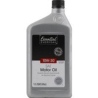 Essential Everyday Motor Oil, SAE 10W-30, 1 Quart