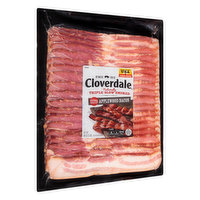 Cloverdale Bacon, Applewood, Extra Thick Cut, 48 Ounce