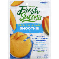 Concord Foods Smoothie Mix, Tropical Mango, 1.8 Ounce
