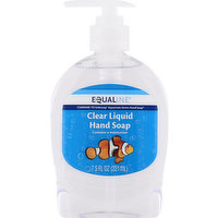 Equaline Hand Soap, Clear Liquid, 7.5 Ounce
