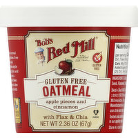 Bob's Red Mill Oatmeal, Apple Pieces and Cinnamon, 2.36 Ounce