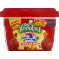 Chef Boyardee Mini Spaghetti Rings & Meatballs, 7.5 Ounce