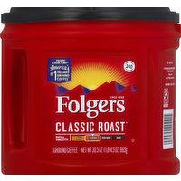 Folgers Coffee, Ground, Medium, Classic Roast, 30.5 Ounce