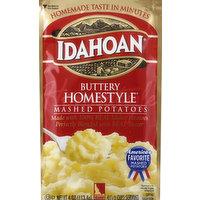 Idahoan Mashed Potatoes, Buttery Homestyle, 4 Ounce