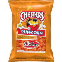 Chester's Puffed Corn Snacks, Cheese Flavored, 4.25 Ounce