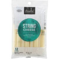 Essential Everyday String Cheese, Part-Skim, Mozzarella, Low-Moisture, 12 Each