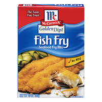 McCormick Fry Mix, Seafood, Fish Fry, 10 Ounce