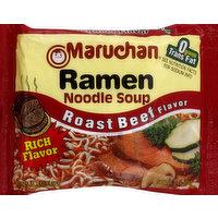 Maruchan Ramen Noodle Soup, Roast Beef Flavor, 3 Ounce