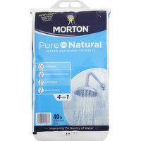 Morton Water Softener Crystals, 40 Pound