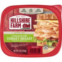 Hillshire Farm Turkey Breast, Oven Roasted, Ultra Thin, 9 Ounce