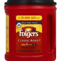 Folgers Coffee, Ground, Medium, Classic Roast, 38.4 Ounce