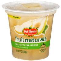 Del Monte Fruit Naturals Bartlett Pears, 7 Ounce