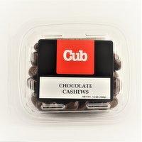Bulk Chocolate Cashews, 12 Ounce
