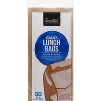 Essential Everyday Lunch Bags, Extra Strong, Giant, 50 Each