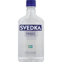 Svedka Vodka, Imported Swedish, 375 Millilitre