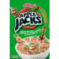 Apple Jacks Cereal, Apple & Cinnamon, 10.1 Ounce