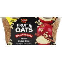 Del Monte Fruit & Oats, Apple Cinnamon, 2 Each