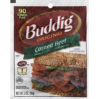 Buddig Corned Beef, Original, 2 Ounce