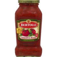Bertolli Sauce, Tomato & Basil, 24 Ounce