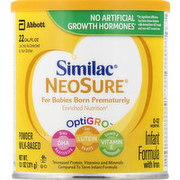 Similac Infant Formula, with Iron, 0-12 Months, 13.1 Ounce
