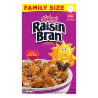Raisin Bran Cereal, Family Size, 24 Ounce