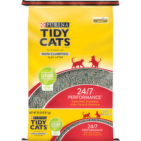 Tidy Cats Litter, Clay, Non-Clumping, 24/7 Performance, 20 Pound