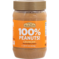 Crazy Richards Peanut Butter, Crunchy, 16 Ounce