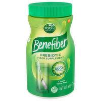 Benefiber Fiber Supplement, Prebiotic, Powder, 17.6 Ounce