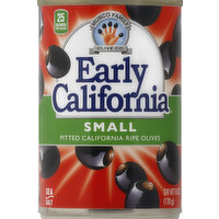 Early California Olives, Pitted California Ripe, Small, 6 Ounce
