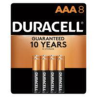 Duracell Batteries, Alkaline, AAA, 8 Pack, 8 Each