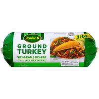 JENNIE-O TURKEY STORE Jennie-O® Fresh All-Natural 90% Lean 10% Fat Ground Turkey 48 oz. Chub, 48 Ounce