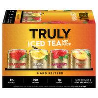 Truly Hard Seltzer, Iced Tea, Mix Pack, 12 Each