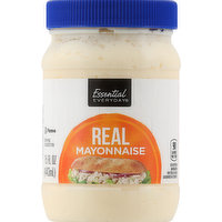 Essential Everyday Mayonnaise, Real, 15 Ounce