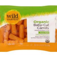 Wild Harvest Carrots, Organic, Baby-Cut, 16 Ounce