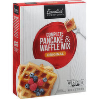 Essential Everyday Pancake & Waffle Mix, Complete, Original, 32 Ounce