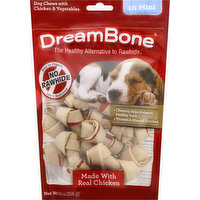 DreamBone Dog Chews, Vegetable & Chicken, Mini, 16 Each