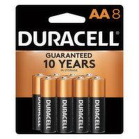 Duracell Batteries, Alkaline, AA, 8 Pack, 8 Each