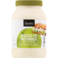 Essential Everyday Mayonnaise with Olive Oil, Reduced Fat, 30 Ounce