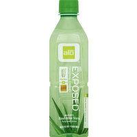 Alo Pulp and Juice, Original Aloe Vera + Honey, Exposed, 16.9 Ounce