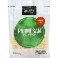 Essential Everyday Cheese, Parmesan, Fancy Cut, 6 Ounce
