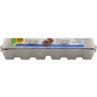 Wild Harvest Eggs, Brown, Cage Free, Large, 18 Each