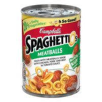 SpaghettiOs Pasta, Meatballs, 15.6 Ounce