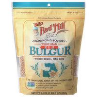 Bob's Red Mill Bulgur, Whole Grain, Red, 24 Ounce